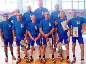 Спартакиада муниципальных районов Ярославской области 2013 по гиревому спорту