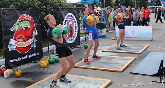 Турнир по гиревому спорту на День города 2015